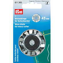 Buy Prym Rotary Cutter Wave Blade Online at johnlewis.com