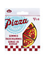 Npw Pizza Erasers, Set of 6