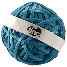 Buy Tinc Rubber Band Ball, Blue Online at johnlewis.com