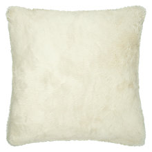 Buy John Lewis Faux Fur Sham Cushion Cover Online at johnlewis.com