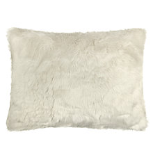 Buy John Lewis Rectangular Faux Fur Cushion Online at johnlewis.com