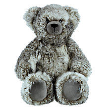 Buy John Lewis Faux Fur Teddy Bear, Grey Online at johnlewis.com