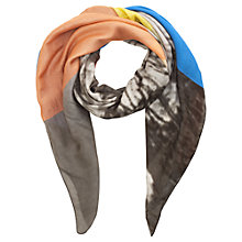 Buy Jigsaw Dandelion Spot Scarf, Multi Online at johnlewis.com