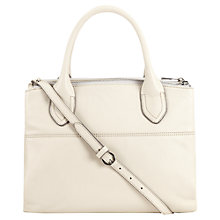 Buy Jigsaw Montreal Bag, Cream Online at johnlewis.com