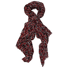 Buy French Connection Annie Scarf, Orange Multi Online at johnlewis.com