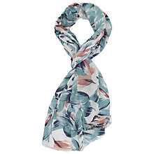 Buy French Connection Angela Floral Scarf Online at johnlewis.com