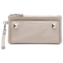 Buy French Connection Sonia Leather Clutch Online at johnlewis.com