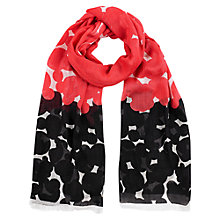 Buy Windsmoor Sunset Circle Scarf, Black Online at johnlewis.com