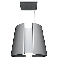 Buy John Lewis JLBIHD520 Island Cooker Hood, Stainless Steel Online at johnlewis.com