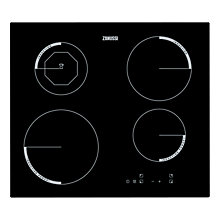 Buy Zanussi ZEI6840FBV Induction Hob, Black Online at johnlewis.com