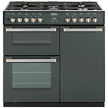 Buy Belling DB4 Deluxe 90DFT MF Dual Fuel Range Cooker, Anthracite Online at johnlewis.com