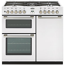 Buy Belling DB4 Deluxe 90DFT MF Dual Fuel Range Cooker, White Online at johnlewis.com