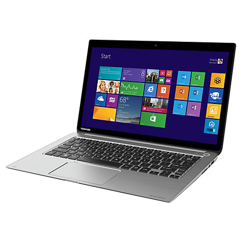 "Buy Toshiba Kira Ultrabook, Intel Core i7, 8GB RAM, 256GB SSD, 13.3"" Touch Screen Online at johnlewis.com"