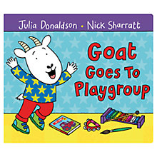 Buy Goat Goes To Playgroup Book Online at johnlewis.com