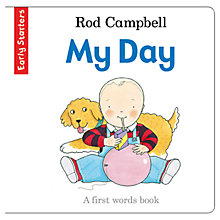 Buy My Day: A First Words Book Online at johnlewis.com