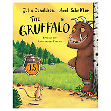 Buy The Gruffalo Book & CD: 15th Anniversary Online at johnlewis.com