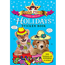 Buy Star Paws Holidays Sticker Book Online at johnlewis.com