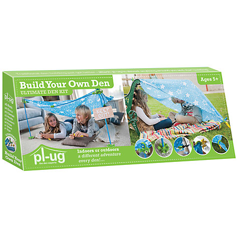 Buy PL-UG Build Your Own Den Ultimate Kit, Large Online at johnlewis.com