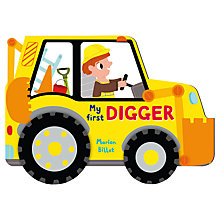 Buy Whizzy Wheels: My First Digger Book Online at johnlewis.com