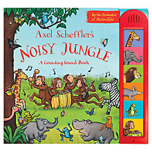 Buy Noisy Jungle: A Counting Sound Book Online at johnlewis.com