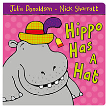 Buy Hippo Has A Hat Book Online at johnlewis.com
