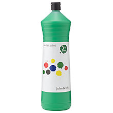 Buy John Lewis Poster Paint, Green Online at johnlewis.com