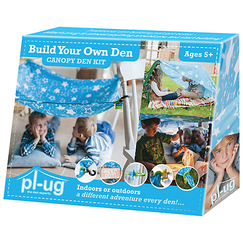 Buy PL-UG Build Your Own Canopy Den Kit, Medium Online at johnlewis.com