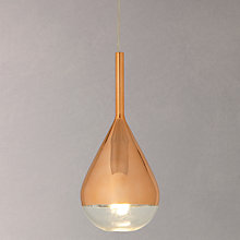 Buy John Lewis Pianto Glass Ceiling Pendant Online at johnlewis.com