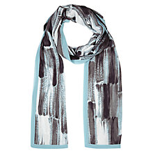 Buy Windsmoor Risley Print Scarf, Blue Online at johnlewis.com