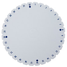 "Buy Beadalon Kumihimo Braiding Disc, 6"" Online at johnlewis.com"