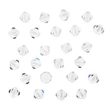 Buy John Lewis Preciosa Bicone Beads, 6mm, Pack of 25 Online at johnlewis.com