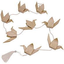 Buy Decopatch Origami Crane Garland Online at johnlewis.com