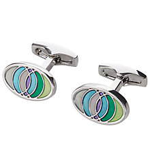 Buy Simon Carter Opus Print Semi Precious Cufflinks Online at johnlewis.com