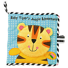 Buy Baby Tiger's Jungle Adventure Soft Book Online at johnlewis.com