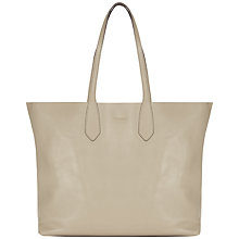Buy Jaeger Hardy Leather Oversized Tote Handbag Online at johnlewis.com