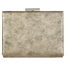 Buy Warehouse 50's Hard Frame Clutch Handbag Online at johnlewis.com