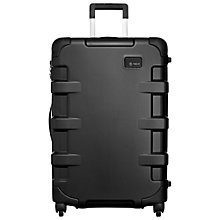 Buy T-Tech by Tumi Cargo Continental 4-Wheel 68.5cm Medium Suitcase, Black Online at johnlewis.com