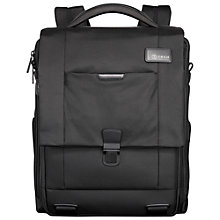 "Buy T-tech by Tumi Convert 15.5"" Laptop Backpack, Black Online at johnlewis.com"