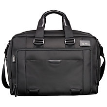 "Buy T-Tech by Tumi T-Pass Expandable 15.5"" Laptop Briefcase, Black Online at johnlewis.com"