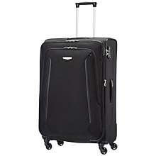 Buy Samsonite Xblade 2.0 4-Wheel 78cm Extra Large Suitcase, Black Online at johnlewis.com