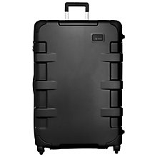 Buy T-Tech by Tumi Cargo Continental 4-Wheel 81.5cm Large Suitcase, Black Online at johnlewis.com