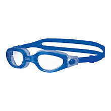 Buy Zoggs Phantom Elite Junior Swimming Goggles, Blue Online at johnlewis.com