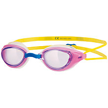 Buy Zoggs Sonic Air Junior Swimming Goggles, Pink Online at johnlewis.com