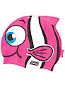 Zoggs Easy Fit Junior Goldfish Character Cap, Pink