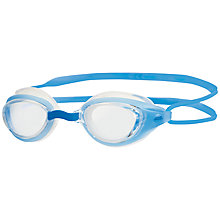 Buy Zoggs Sonic Air Junior Swimming Goggles, Blue Online at johnlewis.com