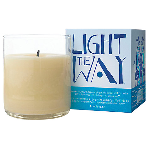 Buy AVEDA Light the Way Candle, 100ml Online at johnlewis.com