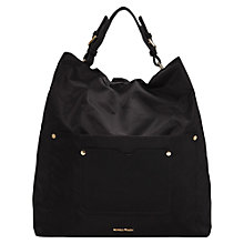 Buy Mango Hobo Bag, Black Online at johnlewis.com