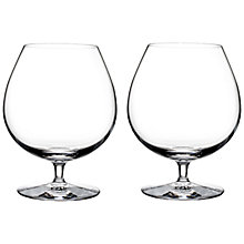 Buy Waterford Elegance Brandy Glasses, Set of 2 Online at johnlewis.com