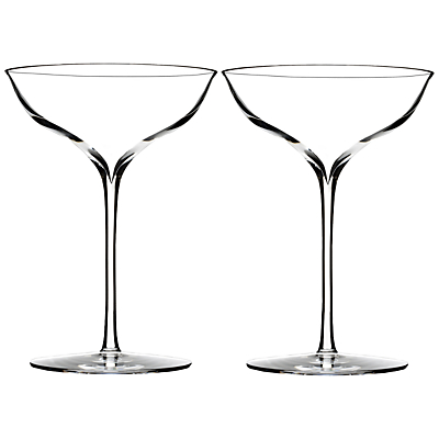 Waterford Elegance Champagne Coupés, Set of 2