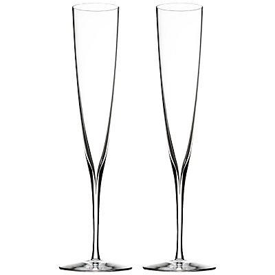 Waterford Elegance Champagne Trumpets, Set of 2